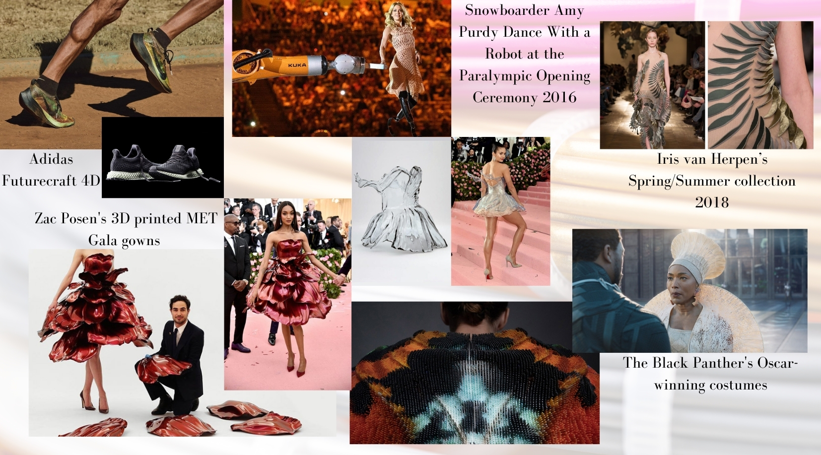 3D printed couture on the Met Gala