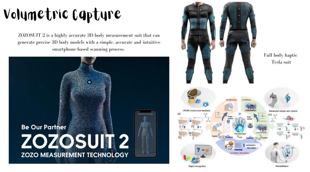 Haptic Touch, volumetric capture